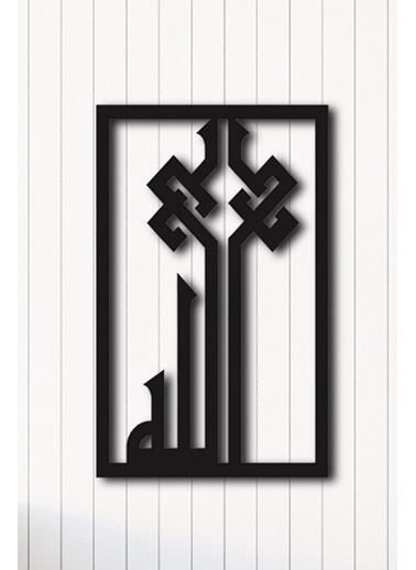 Angemiel Home Metal Duvar Tablosu Siyah